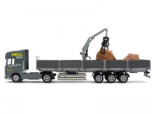 1/64 SCANIA CRANE TRAILER with STONE (RB070094GY)