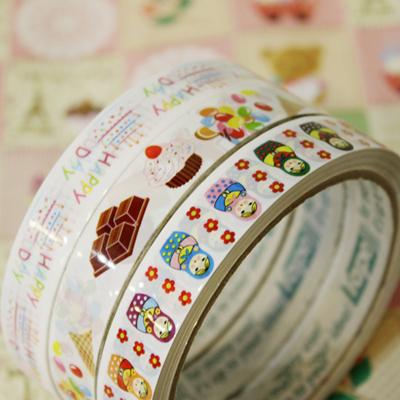 팬시 테이프 스티커 3type - 일본직수입