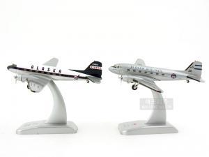 1/200 DC-3 ALASKA AIRLINES (HG368775SET)
