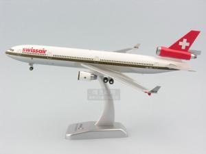 """1/200 MD-11 SWISSAIR """"GOLDLINE"""" (HG363817WH)"""