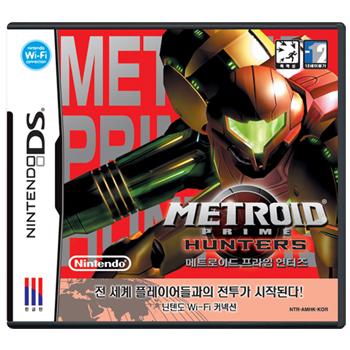 닌텐도 DS 메트로이드 프라임 헌터즈
