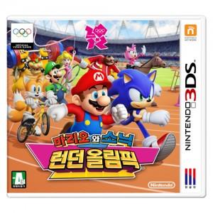 [닌텐도 3DS] 마리오와 소닉 런던 올림픽-마리오 소닉과 함께 21종목의 올림픽 경기에 도전