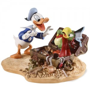 [Disney Classic] 도날드덕:Donald and Yellow beak -Prate Gold (4009059)