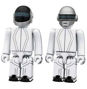 kubrick Tron Daft Punk SET