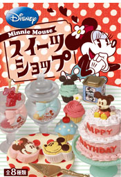 [REMENT]푸치디즈니#55-미니마우스 스위트샵(8종박스-랜덤발송)