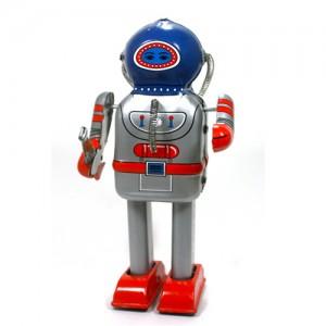 틴토이 RETROBO MECHANICAL BENTHIC ROBOT 우주 선장 로봇