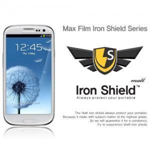 스킨플레이어 삼성 갤럭시S 3 크리스탈 아이언쉴드 보호필름-무광