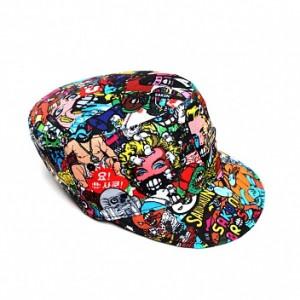 G-STICKERS CAP(BLACK)