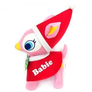 PuchiBabie 푸치바비 핑크 망또 BIG -크리스마스 시리즈