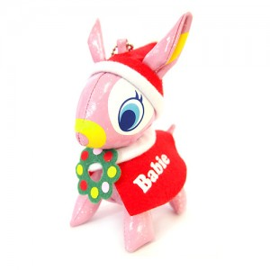 PuchiBabie 푸치바비 핑크 망또 SMALL -크리스마스 시리즈