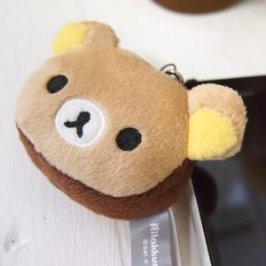 [리락쿠마] 쵸코 리락쿠마 얼굴 핸드폰줄(이어캡)