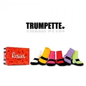 [트럼펫] Big Rosies/ 6 pairs (0-12M) -아기양말세트