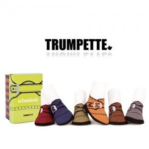 [트럼펫] Sebastien's / 6 pairs (0-12M) -아기양말세트