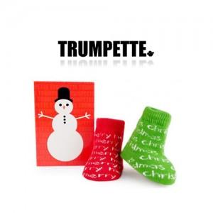 [트럼펫] Merry Christmas / 1 pairs (0-12M) -아기양말