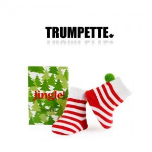 [트럼펫] Jingle / 1 pairs (0-12M) -아기양말