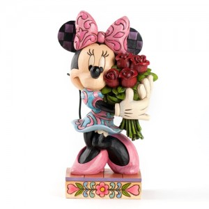 [Disney] 미니마우스: Minnie Mouse with Roses Figurine