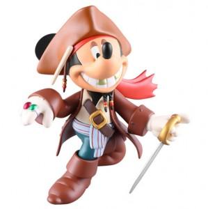 [패키지 스크레치 SALE] 피겨 No.150 _미키 마우스 (잭스패로우 버전) -캐러비안의 해적