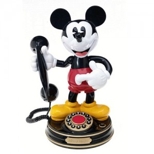 [OUTLET] MICKEY MOUSE Amimated Talking Telephone -미키마우스 전화기