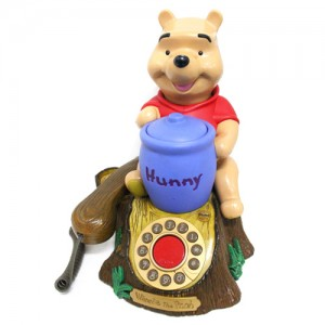 [OUTLET] WINNIE THE POOH Amimated Talking Telephone -곰돌이 푸우 전화기