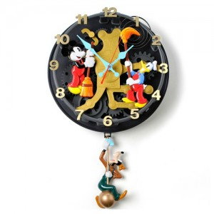 [OUTLET] MICKEY MOUSE Animated Talking Wall Clock -미키마우스 입체시계