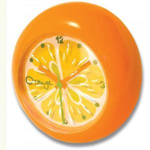 썸크_과일 벽시계-오렌지