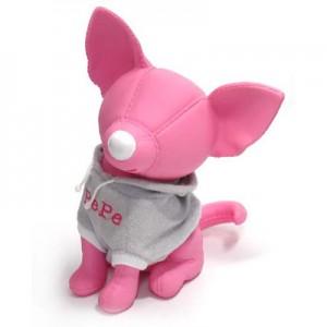 썸크_티셔츠강아지 저금통-PEPE/핑크