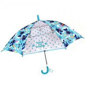 스티치 안전창 아동 우산 67cm