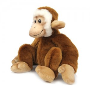 [HANSA] Monkey Sitting-PB (원숭이4 ) 5647번 / 28cmH