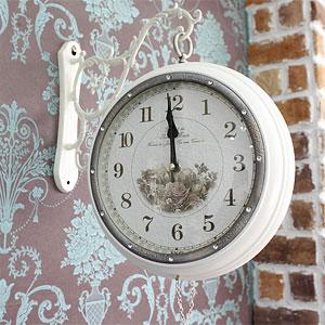 재입고~쥬얼리 양면시계(화이트)