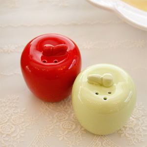 애플 소금 후추통(그린색상만 가능)