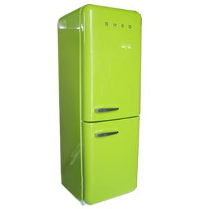 [예약판매]스메그 냉장고 - 투도어 lime green
