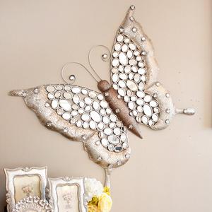 나비 철제 벽장식