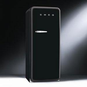 스메그 냉장고 - SMEG black