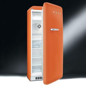 스메그 냉장고 - SMEG orange