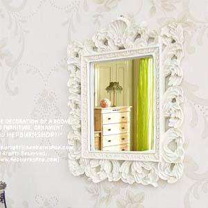 로맨틱 스톤 벽거울