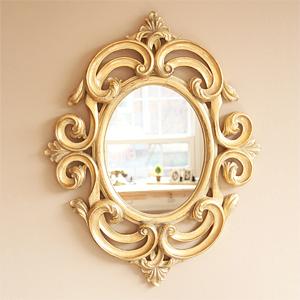 아멜리에 앤틱 거울