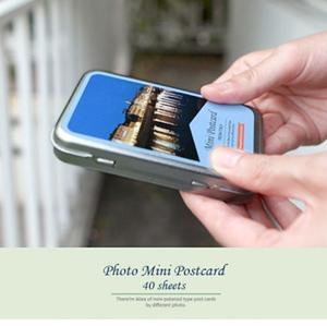 포토 미니 포스트카드 - 이탈리아