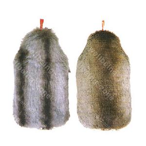 럭셔리 Fox Fur 커버 보온 물주머니(2.0L) -Made in Germany