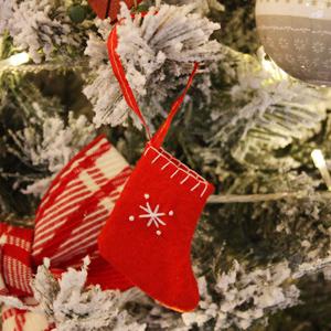 크리스마스 산타양말 6P세트