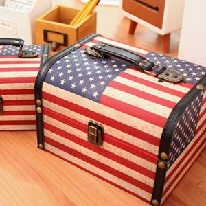 아메리카&잉글랜드 빈티지 박스