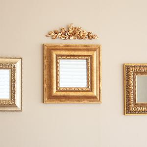 사각 미니 데코 거울(B)