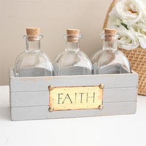 빈티지 글라스 보틀 - FAITH