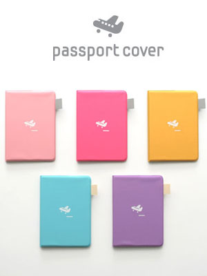 [H] 2NUL Passport Cover Ver.2 (5color)