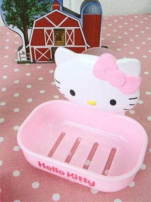 [Hello Kitty] 흡착식 비누케이스