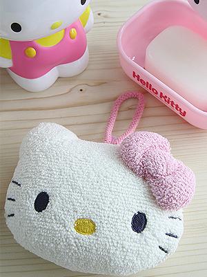[Hello Kitty] 샤워 퍼프
