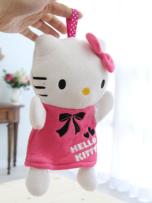 [Hello Kitty]인형 거품 핸드타올