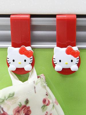 +최다판매+  [Hello Kitty] 싱크대 비닐봉투 걸이