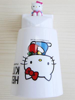 [Hello Kitty] 마그네틱 양치컵+홀더 세트 ver.2