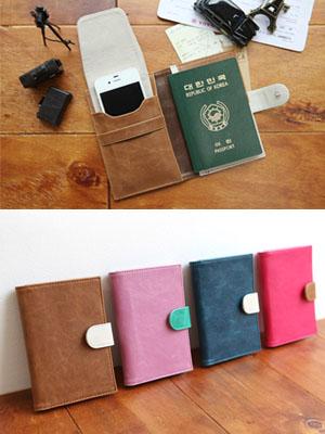 [H] Passport - Phone Case