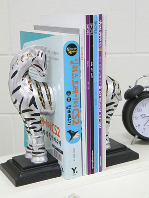 Zebra 장식&북앤드